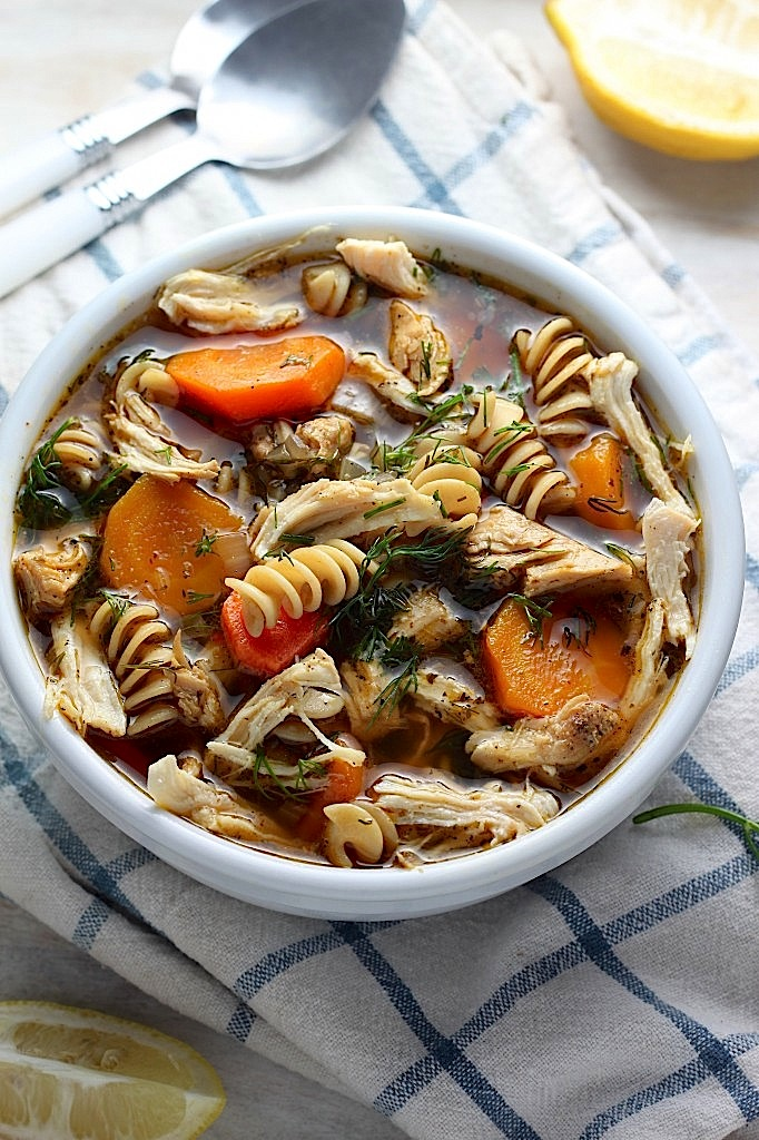Impress the guy: First Date Dinner Ideas - chicken noodle soup