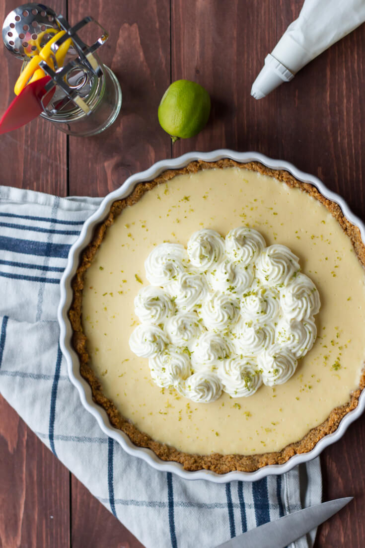 Impress the guy: First date dinner ideas - key lime pie
