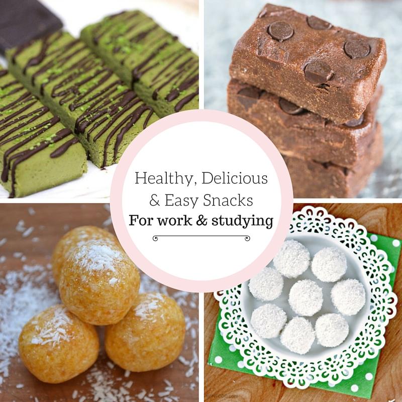 Healthy, Delicious & Easy Snacks