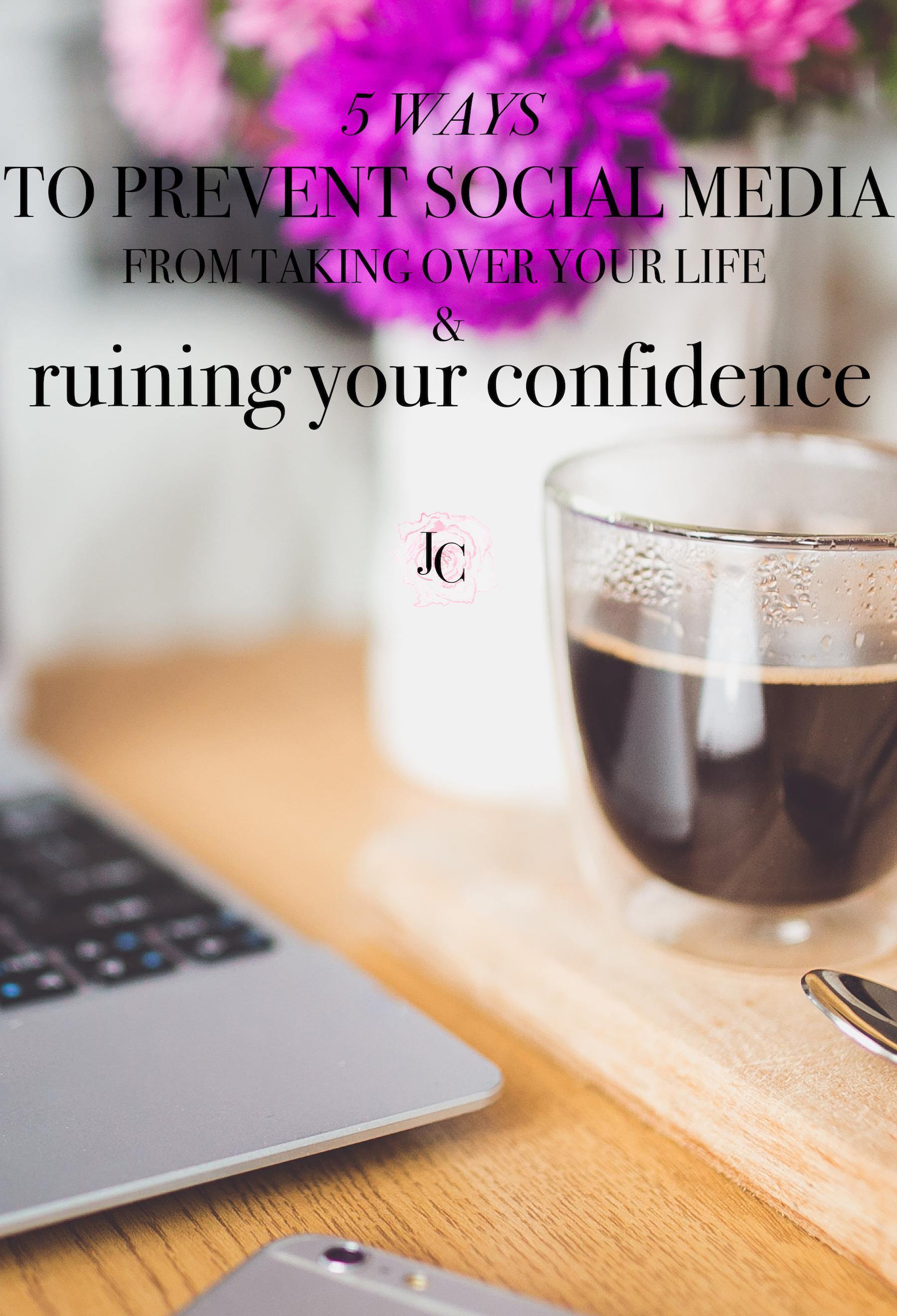 Do you have a habit of overconsuming social media, and feeling lack of confidence afterwards, because of a feed full of perfect bikini bodies and #lifegoals? Here's a survival guide to social media - how to prevent it from taking over your life and confidence. Click to read more!