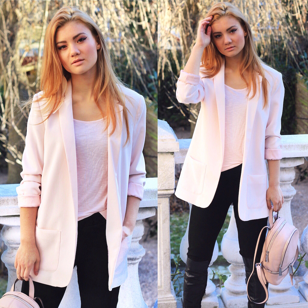 Juliana Chow pastel colored outfit new year new you blog fashion beauty lookbook lifestyle 2016
