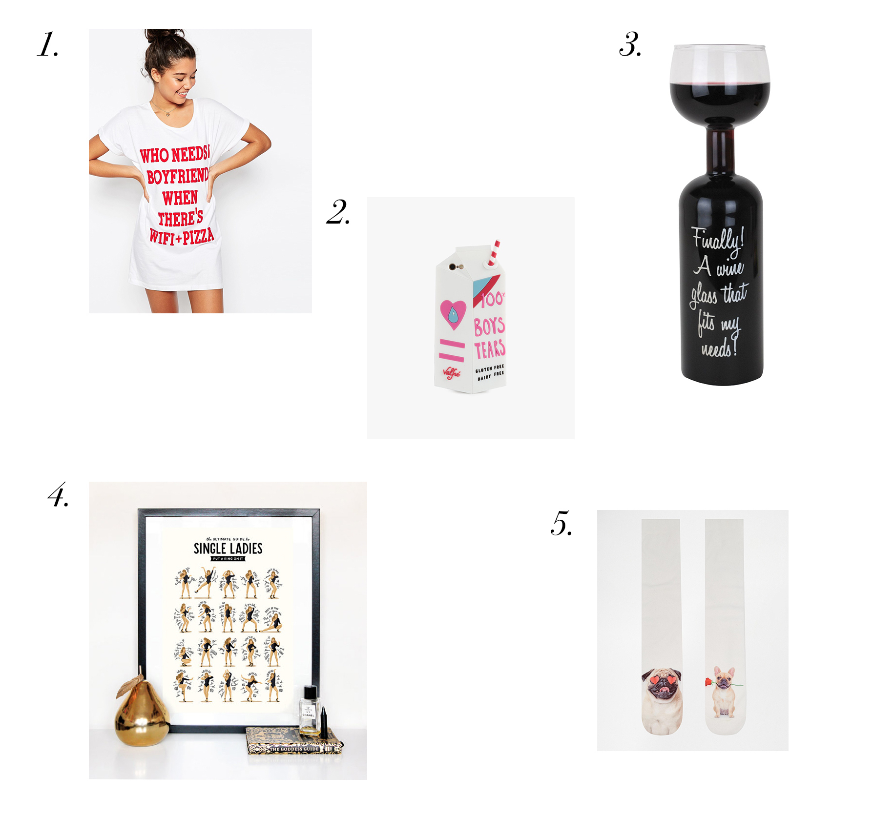 Single on Valentine's Day Gift Ideas To Yourself Treat Funny Presents Girl