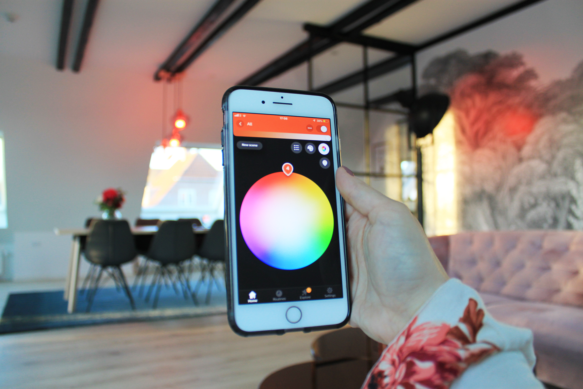 Philips Hue lights smart home
